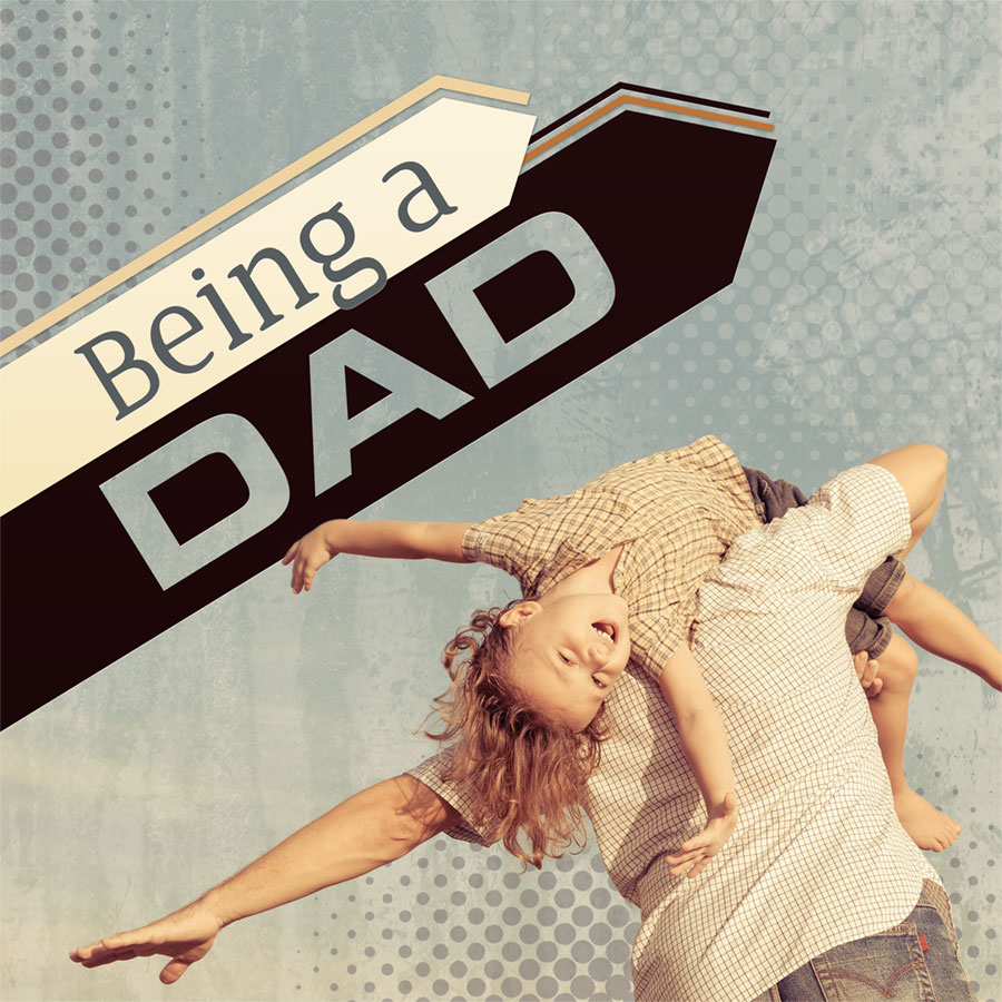 Being a Dad booklet