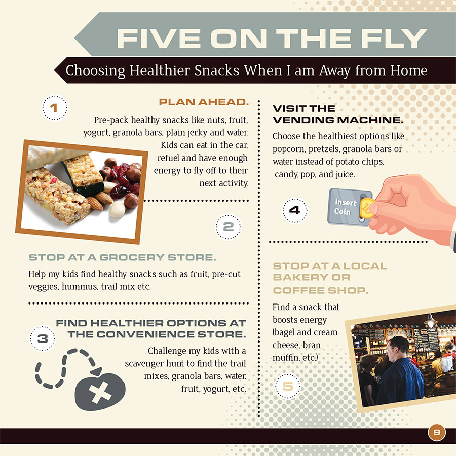 Five on the Fly Snacks