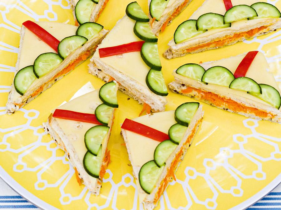 Sailboat Sandwiches