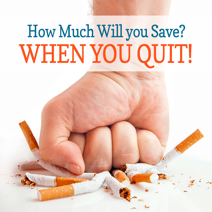 How Much will you Save When you Quit